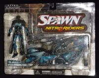 Spawn Series 16 - Nitro Riders: Flashpoint - Ultra Action Figure Sealed On Card